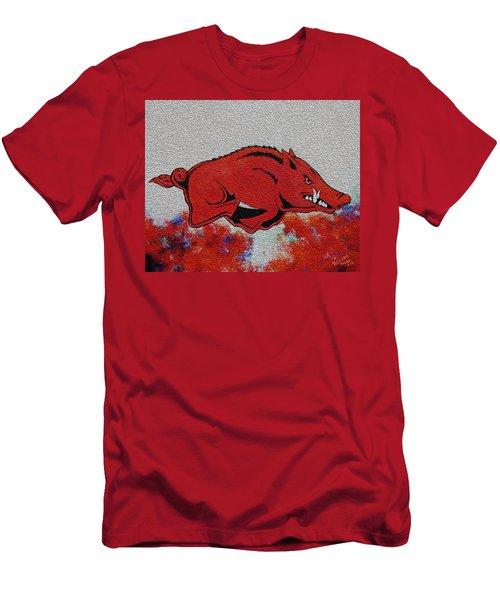 Woo Pig Sooie 2 Men's T-Shirt (Slim Fit) by Belinda Nagy