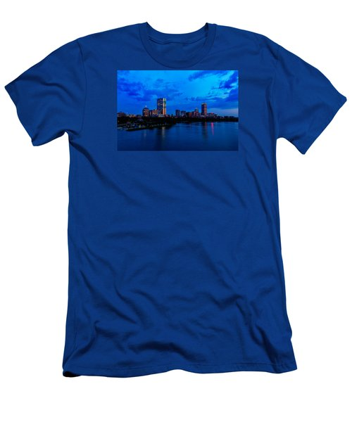 Boston Evening Men's T-Shirt (Slim Fit) by Rick Berk