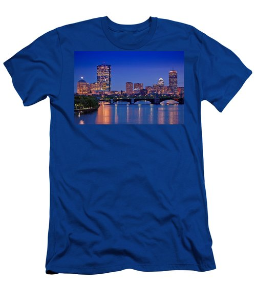 Boston Nights 2 Men's T-Shirt (Slim Fit) by Joann Vitali