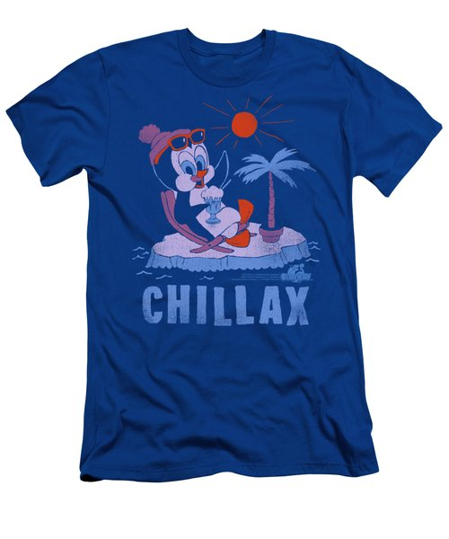 Chilly Willy - Chillax Men's T-Shirt (Slim Fit) by Brand A