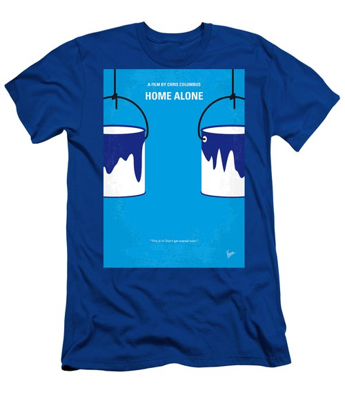 No427 My Home Alone Minimal Movie Poster Men's T-Shirt (Slim Fit) by Chungkong Art