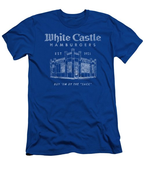 White Castle - By The Sack Men's T-Shirt (Slim Fit) by Brand A