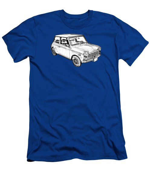Mini Cooper Illustration Men's T-Shirt (Slim Fit) by Keith Webber Jr