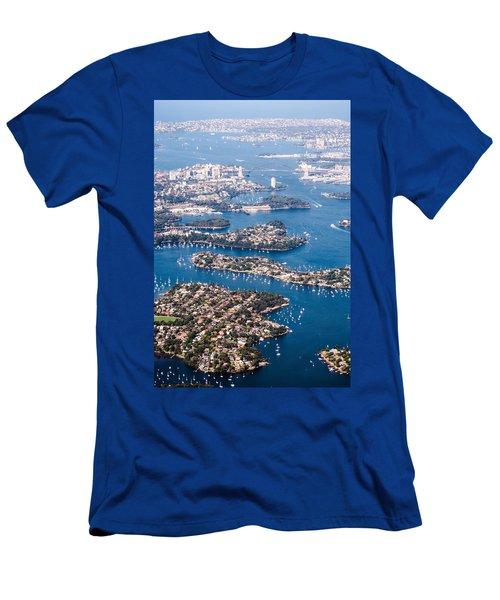 Sydney Vibes Men's T-Shirt (Slim Fit) by Parker Cunningham