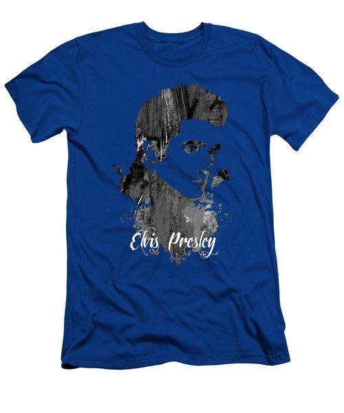 Elvis Presley Collection Men's T-Shirt (Slim Fit) by Marvin Blaine