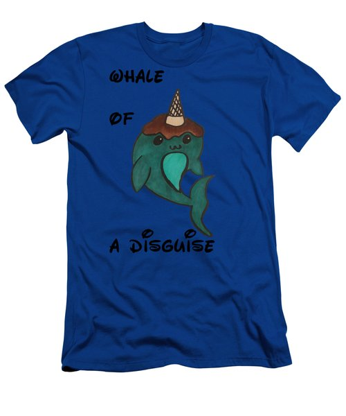 a Whale of a disguise Men's T-Shirt (Slim Fit) by Darci Smith