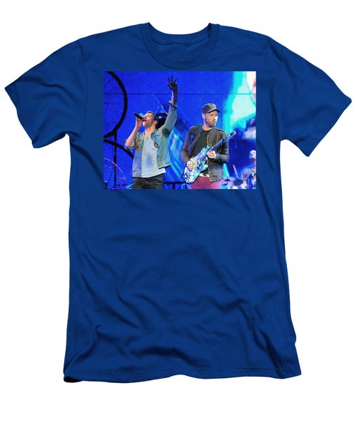 Coldplay6 Men's T-Shirt (Slim Fit) by Rafa Rivas