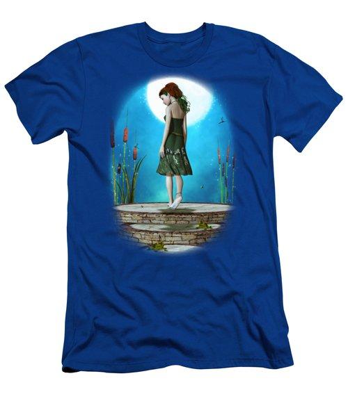Pond Of Dreams Men's T-Shirt (Slim Fit) by Brandy Thomas
