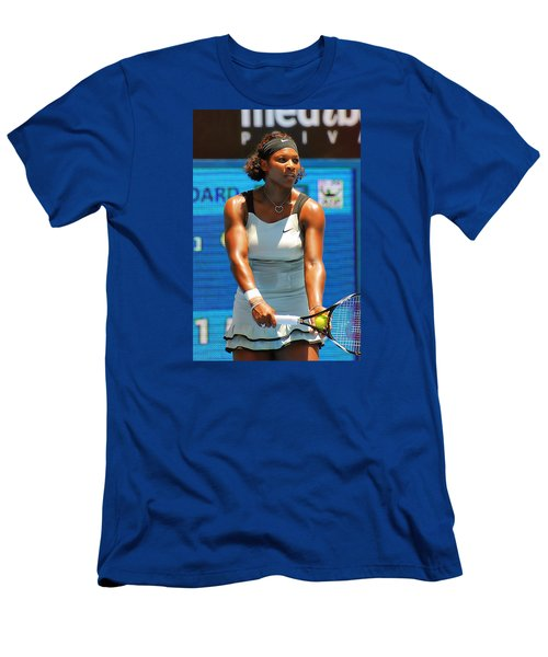 Serena Williams Men's T-Shirt (Slim Fit) by Andrei SKY
