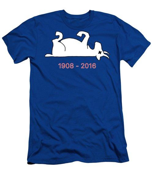The Goat Is Dead Men's T-Shirt (Slim Fit) by Larry Scarborough