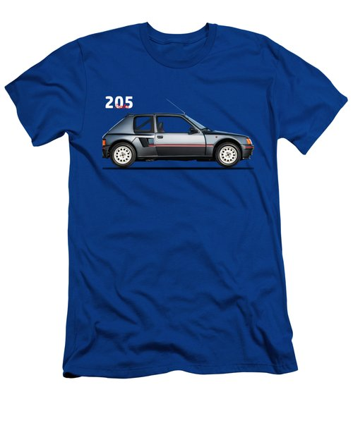 The Peugeot 205 Turbo Men's T-Shirt (Slim Fit) by Mark Rogan