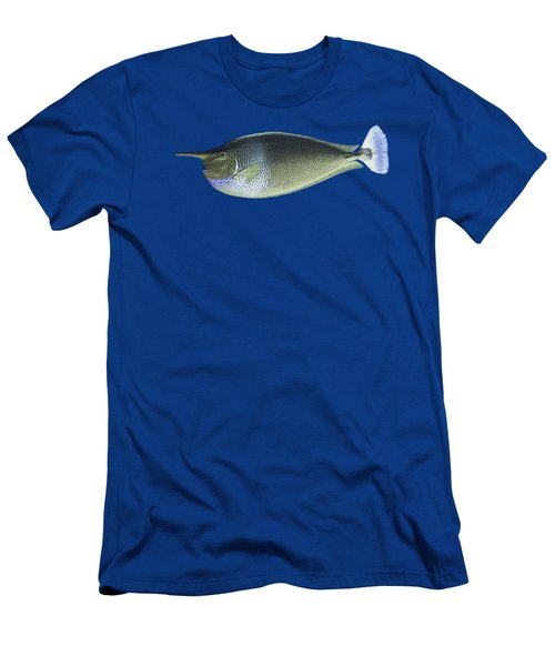 Unicorn Fish Men's T-Shirt (Slim Fit) by Roy Pedersen