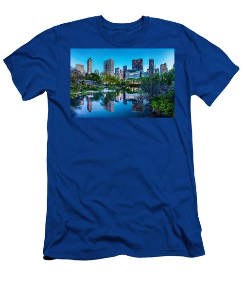 Urban Oasis Men's T-Shirt (Slim Fit) by Az Jackson