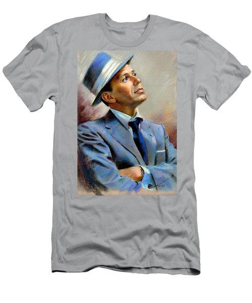Frank Sinatra  Men's T-Shirt (Slim Fit) by Ylli Haruni