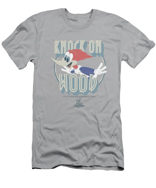 Woody Woodpecker - Knock On Wood Men's T-Shirt (Slim Fit) by Brand A