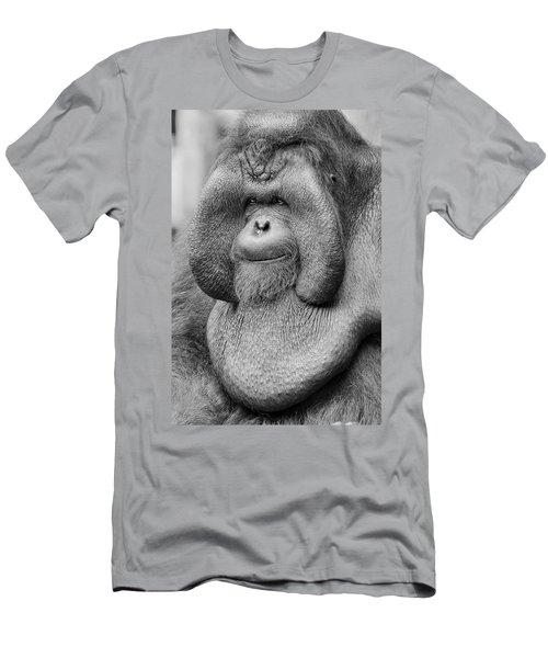 Bornean Orangutan IIi Men's T-Shirt (Slim Fit) by Lourry Legarde