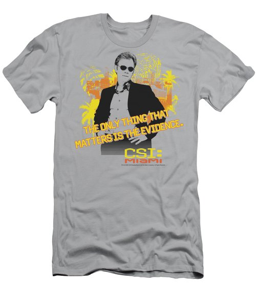 Csi Miami - Hand On Hips Men's T-Shirt (Slim Fit) by Brand A