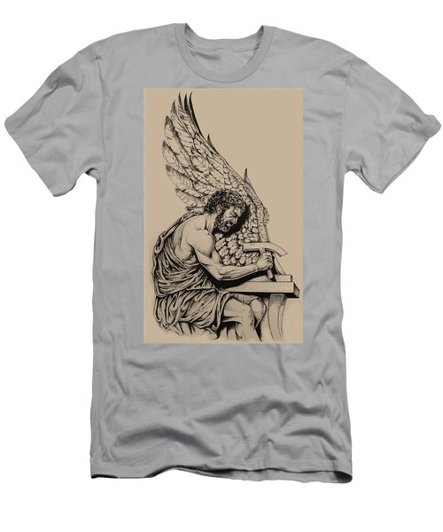 Daedalus Workshop Men's T-Shirt (Slim Fit) by Derrick Higgins