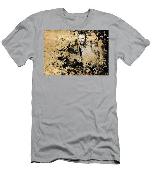 Eric Clapton 3 Men's T-Shirt (Slim Fit) by Bekim Art
