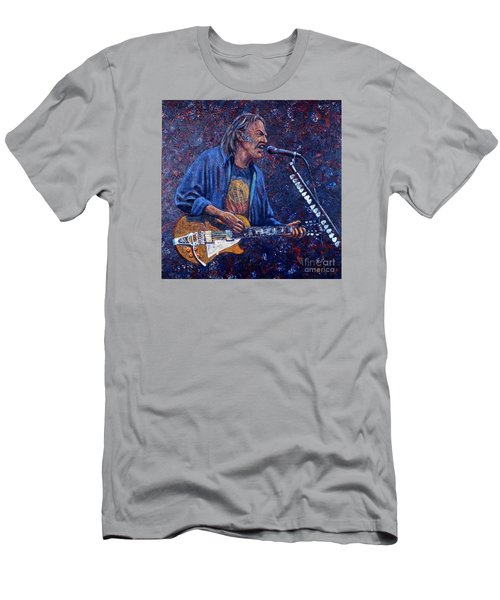 Neil Young Men's T-Shirt (Slim Fit) by John Cruse Knotts