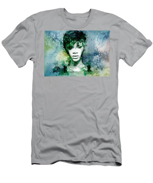 Rihanna 4 Men's T-Shirt (Slim Fit) by Bekim Art