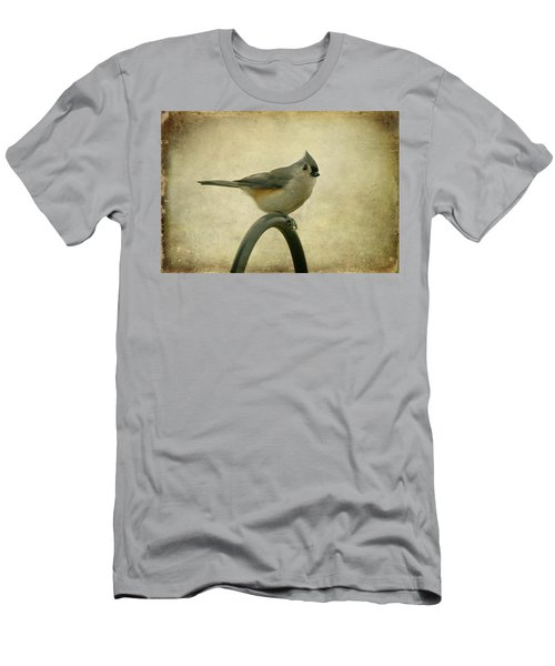 Tufted Titmouse II Men's T-Shirt (Slim Fit) by Sandy Keeton
