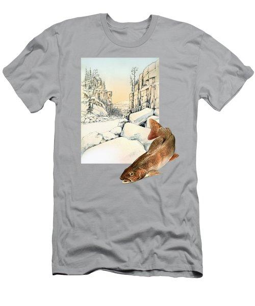 Lenok Men's T-Shirt (Slim Fit) by Alexandra Panaiotidi