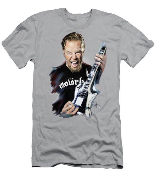 James Hetfield Men's T-Shirt (Slim Fit) by Melanie D