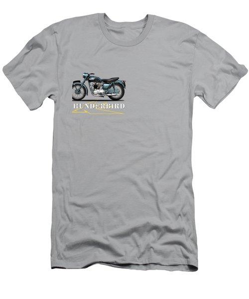 Triumph Thunderbird 1955 Men's T-Shirt (Slim Fit) by Mark Rogan