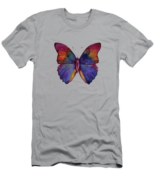 13 Narcissus Butterfly Men's T-Shirt (Slim Fit) by Amy Kirkpatrick