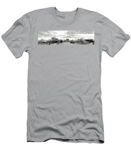 1926 Miami Hurricane  Men's T-Shirt (Slim Fit) by Jon Neidert