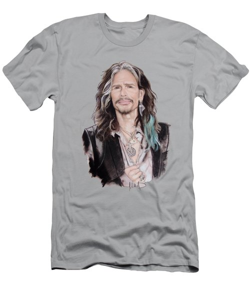 Steven Tyler  Men's T-Shirt (Slim Fit) by Melanie D