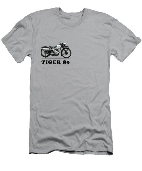 Triumph Tiger 80 1937 Men's T-Shirt (Slim Fit) by Mark Rogan