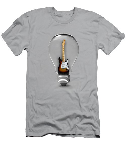 Electric Fender Stratocaster Collection Men's T-Shirt (Slim Fit) by Marvin Blaine