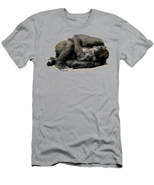 Gorilla Men's T-Shirt (Slim Fit) by FL collection