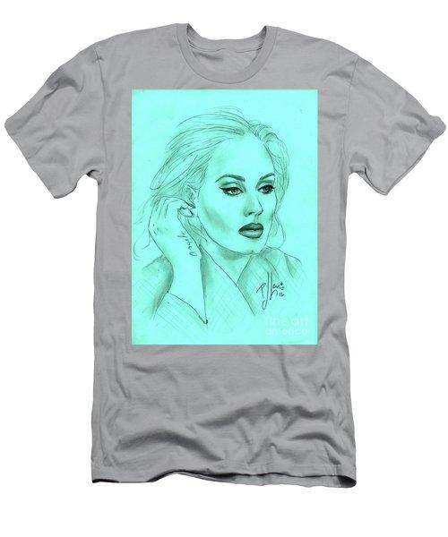 Adele Men's T-Shirt (Slim Fit) by P J Lewis