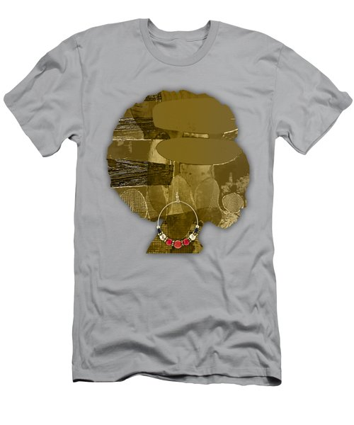 African America Men's T-Shirt (Slim Fit) by Marvin Blaine