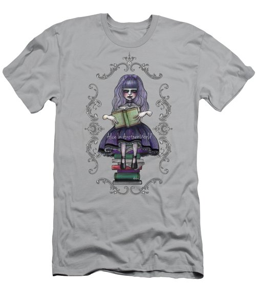 Alice In Another World 2 Men's T-Shirt (Slim Fit) by Akiko Okabe