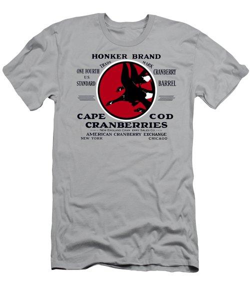 1900 Honker Cranberries Men's T-Shirt (Slim Fit) by Historic Image