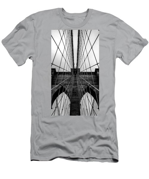 Brooklyn's Web Men's T-Shirt (Slim Fit) by Az Jackson