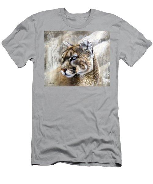 Catamount Men's T-Shirt (Slim Fit) by Sandi Baker