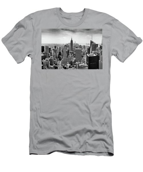 Classic New York  Men's T-Shirt (Slim Fit) by Az Jackson