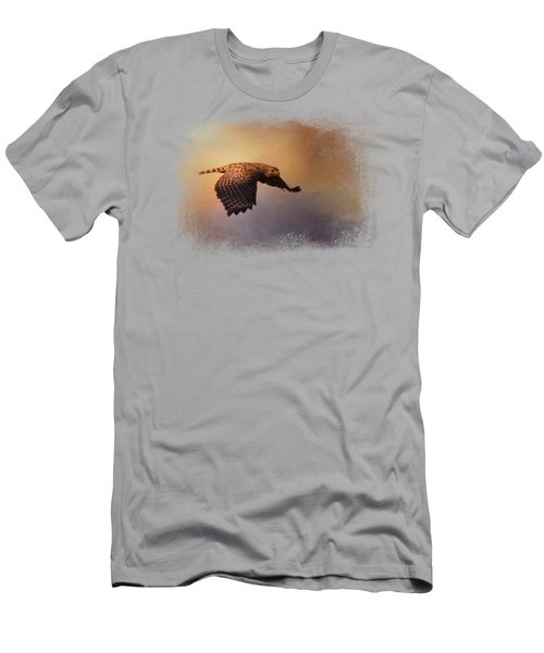 Coming In For The Evening Men's T-Shirt (Slim Fit) by Jai Johnson