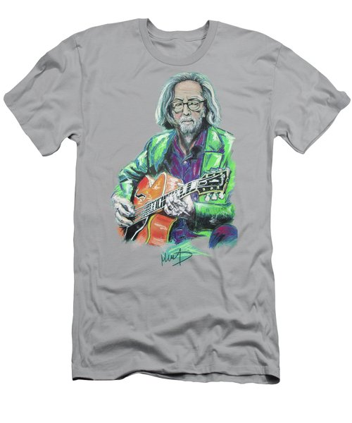 Eric Clapton Men's T-Shirt (Slim Fit) by Melanie D
