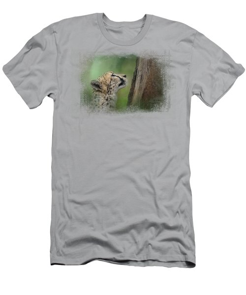 Facing Challenges Men's T-Shirt (Slim Fit) by Jai Johnson
