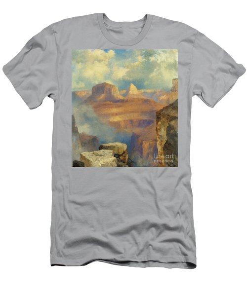 Grand Canyon Men's T-Shirt (Slim Fit) by Thomas Moran