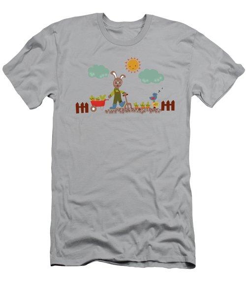 Harvest Time Men's T-Shirt (Slim Fit) by Kathrin Legg