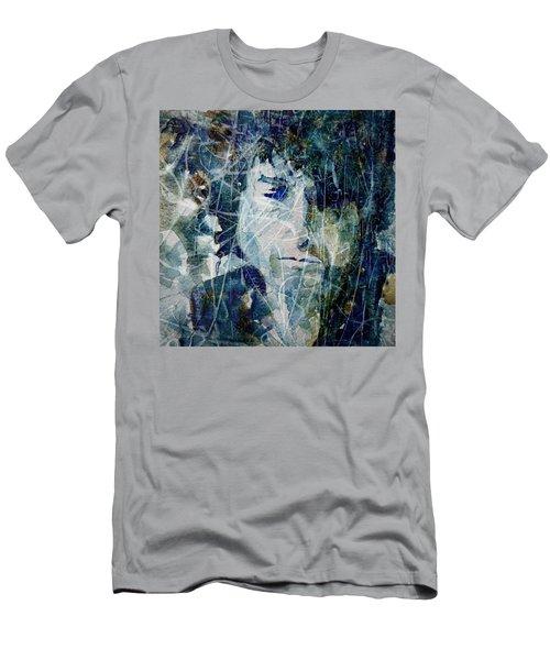 Knocking On Heaven's Door Men's T-Shirt (Slim Fit) by Paul Lovering