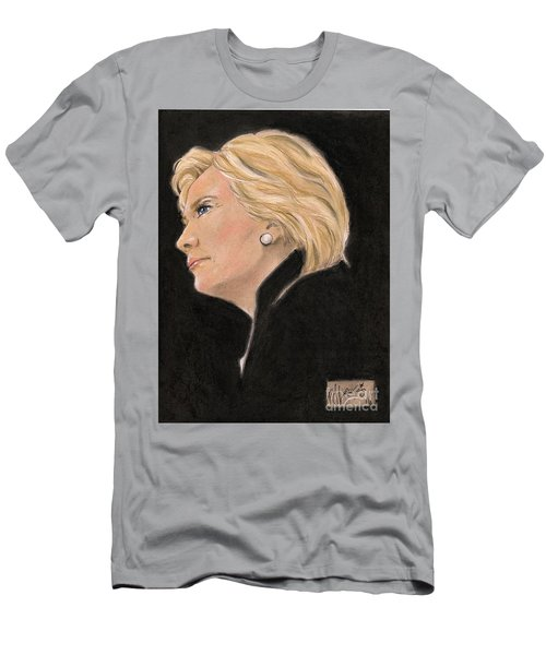 Madame President Men's T-Shirt (Slim Fit) by P J Lewis