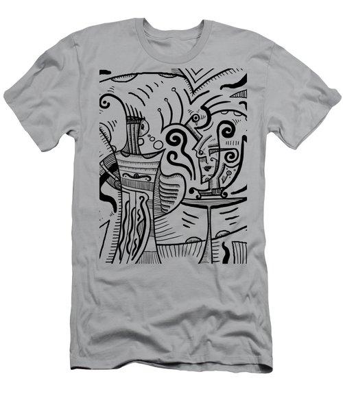 Mystical Powers Men's T-Shirt (Slim Fit) by Sotuland Art